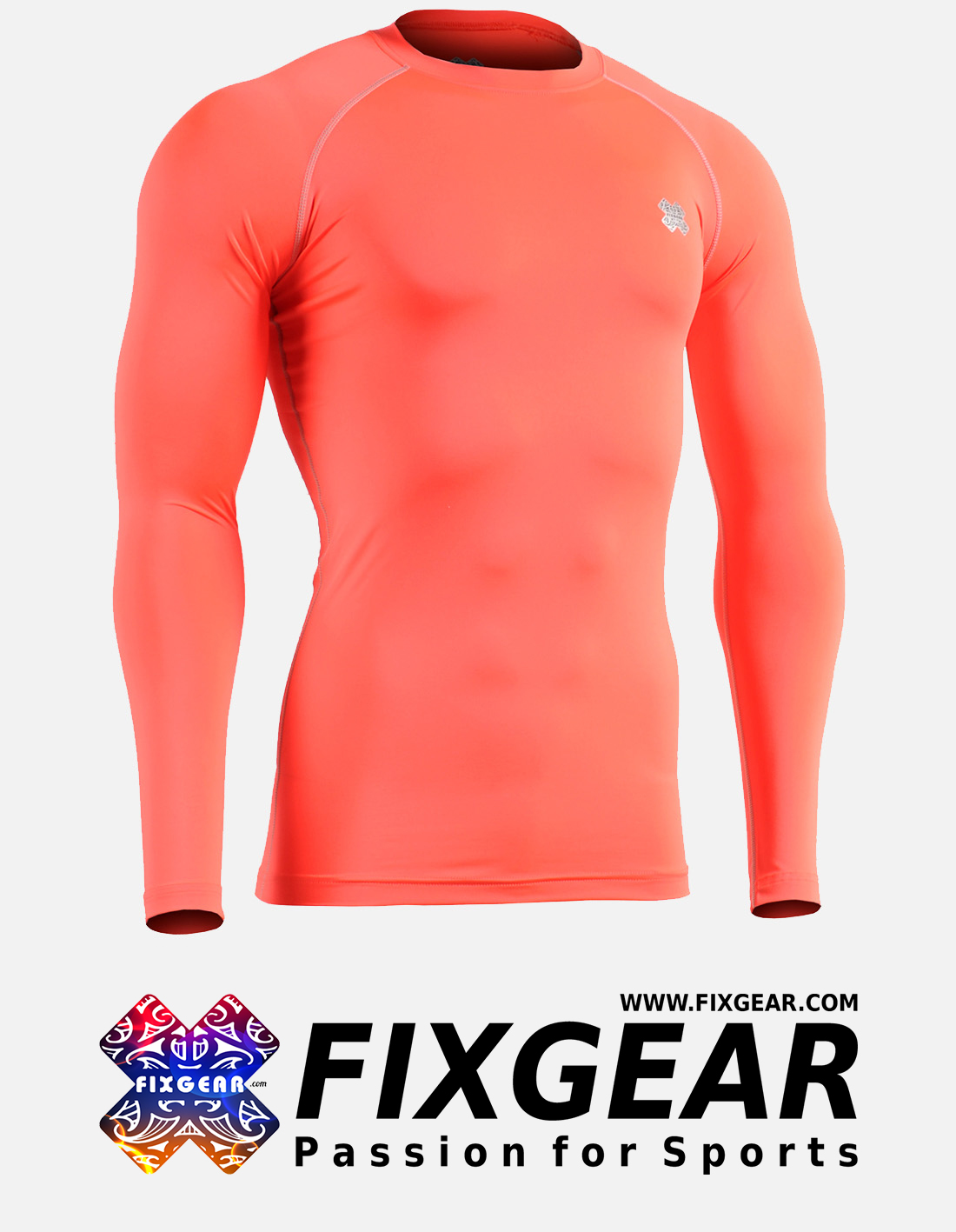 FIXGEAR CPL-RO Skin-tight Compression Base Layer Shirt