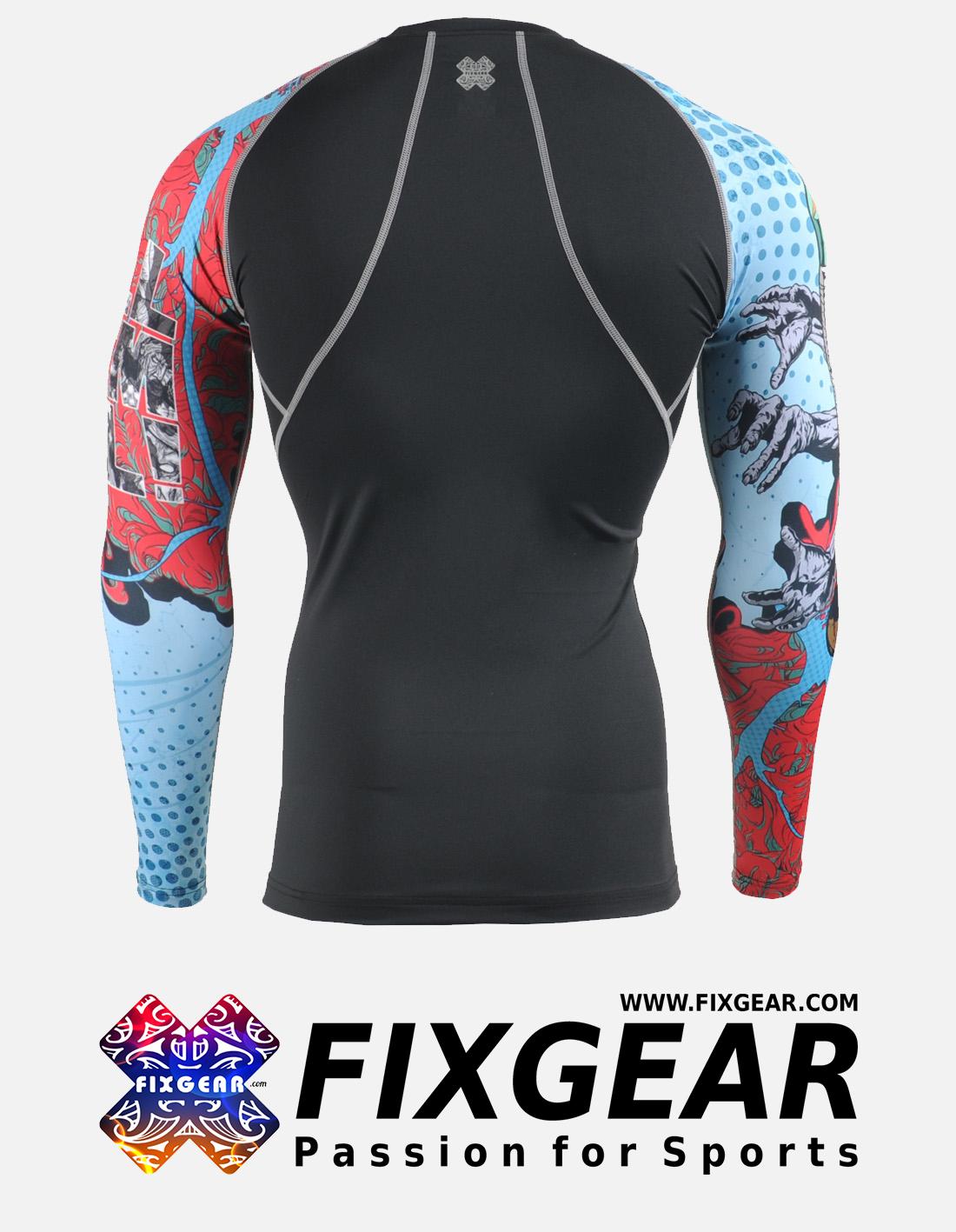 FIXGEAR CPD-B77 Compression Base Layer Shirt