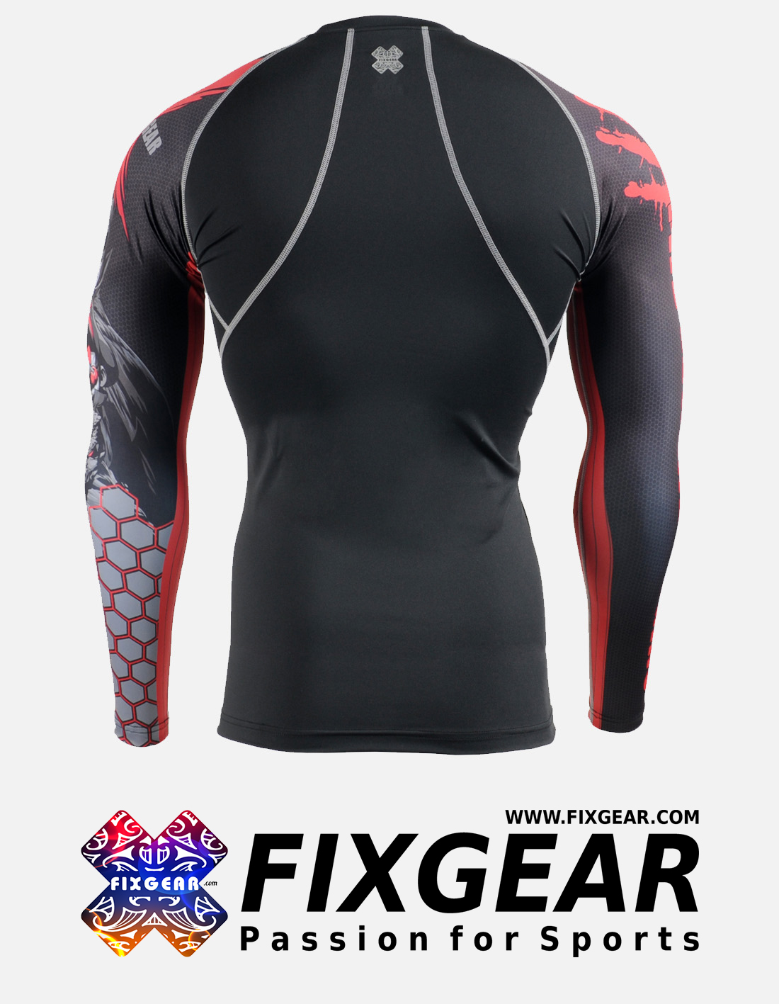 FIXGEAR CPD-BH4 Compression Base Layer Shirt